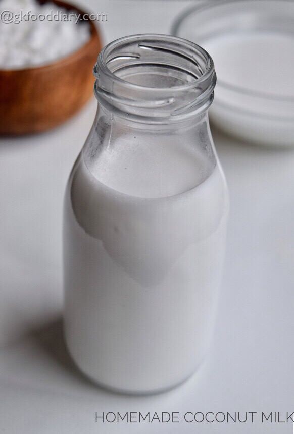 Homemade Coconut Milk for Babies