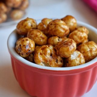 Sweet Makhana (with Jaggery) for Toddlers and Kids   Phool Makhana Recipes 1