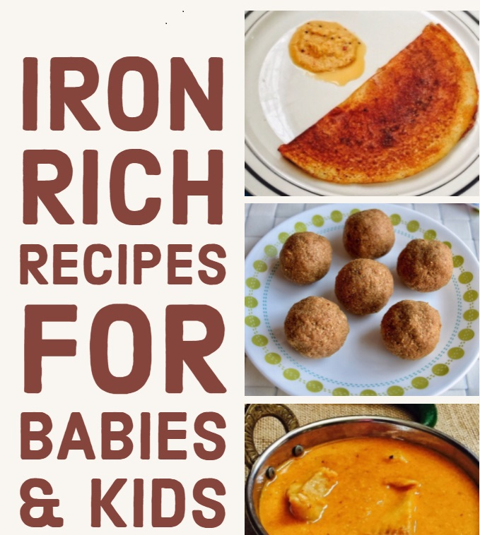 Foods Rich In Iron For Babies Recipes