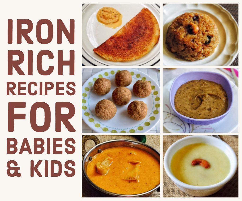Iron Rich Food List For Babies