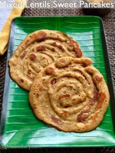 Mixed-Lentils-Sweet-Pancakes-recipe-for-toddlers