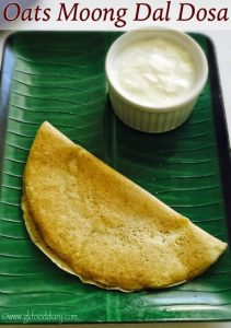 Oats-Moong-Dal-Dosa-Recipe