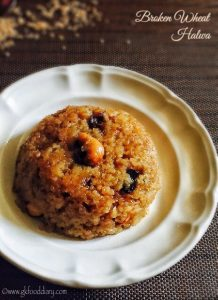 broken wheat halwa