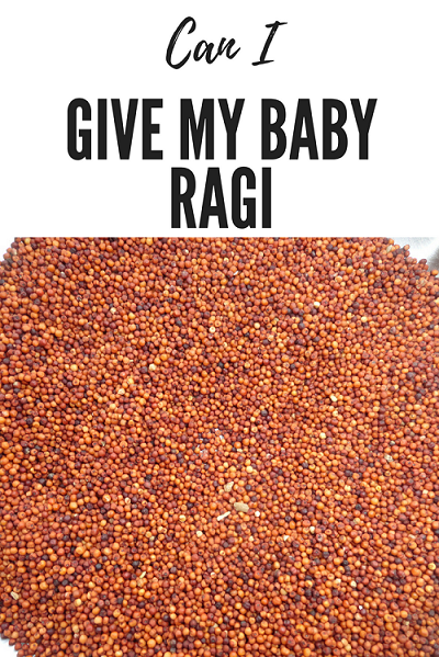 Can I give my Baby Ragi