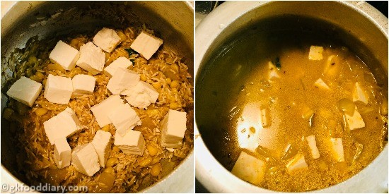 Corn Paneer Pulao - Step 6