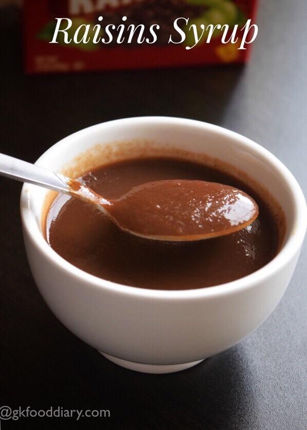 Homemade Raisin Syrup Recipe