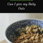 Oats Baby Food Recipes
