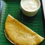 Oats Moong Dal Dosa