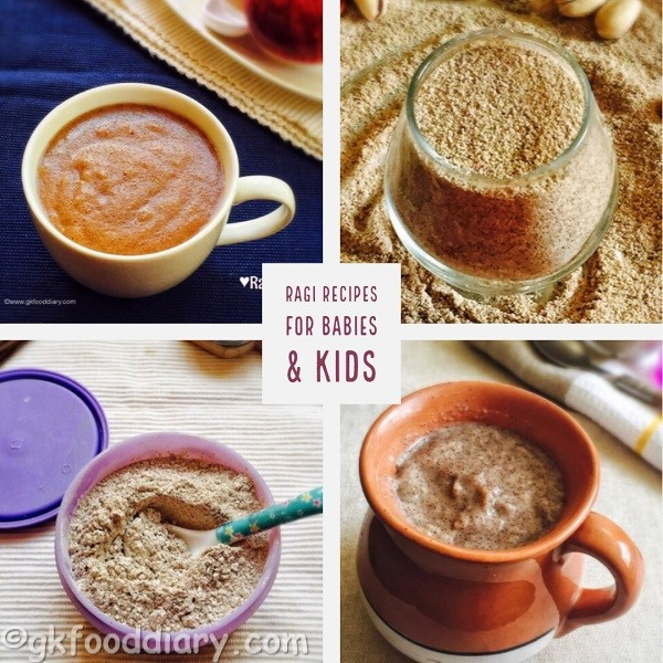 Ragi Recipes for Babies & Toddlers