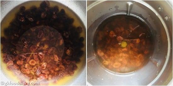 Raisin Syrup - step 2