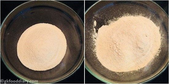 Sooji Banana Cake Step 3