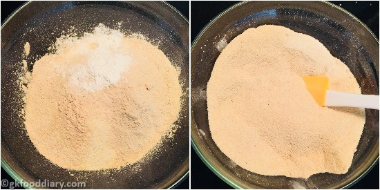 Sooji Banana Cake Step 4