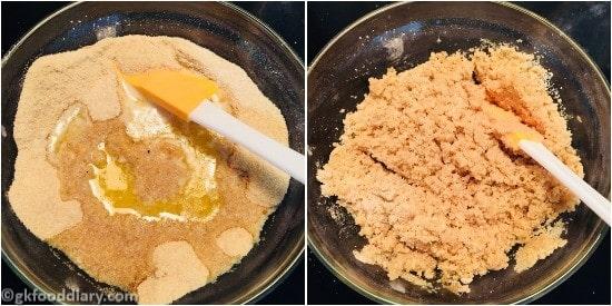 Sooji Banana Cake Step 5
