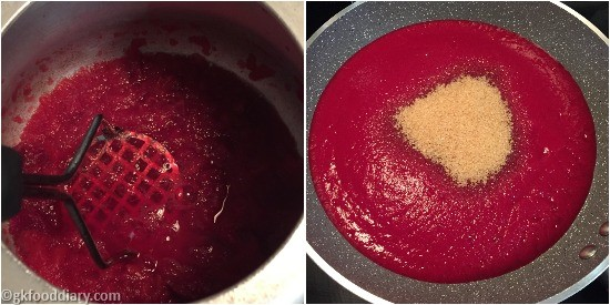 Apple Beetroot Jam - Step3