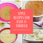 Apple Baby Food Recipes | When Can I give my Baby Apple