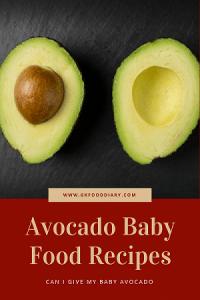 Avocado Recipes for Baby & Toddler