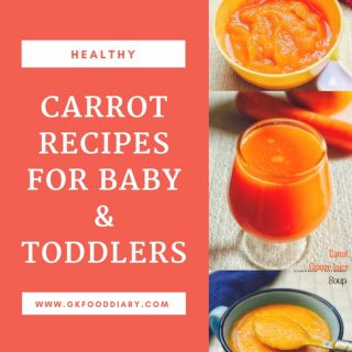 Carrot Baby Food Recipes | When Can I give my Baby Carrot 2
