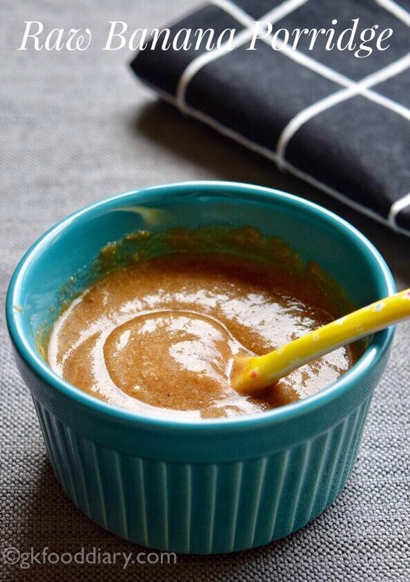 Nendran Banana Porridge for Babies