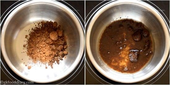 Raw Banana Porridge Step 1