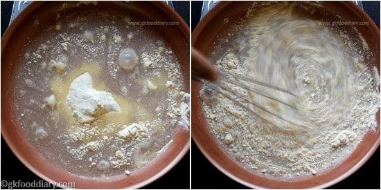Raw Banana Porridge Step 4
