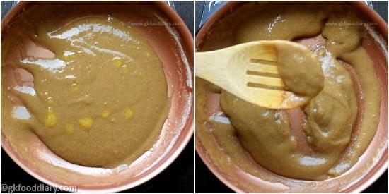 Raw Banana Porridge Step 7
