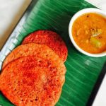 Beetroot Recipe Collections - Vegetable dosa