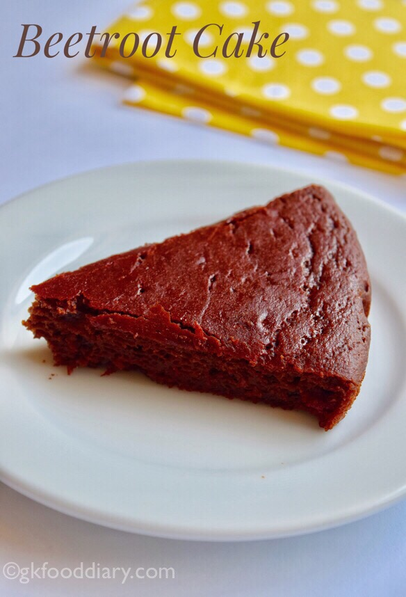 Beetroot Chocolate Cake Recipe for Toddlers and Kids
