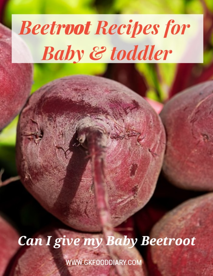 Beetroot Recipes for Baby