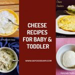 CHEESE BABY FOOD RECIPES