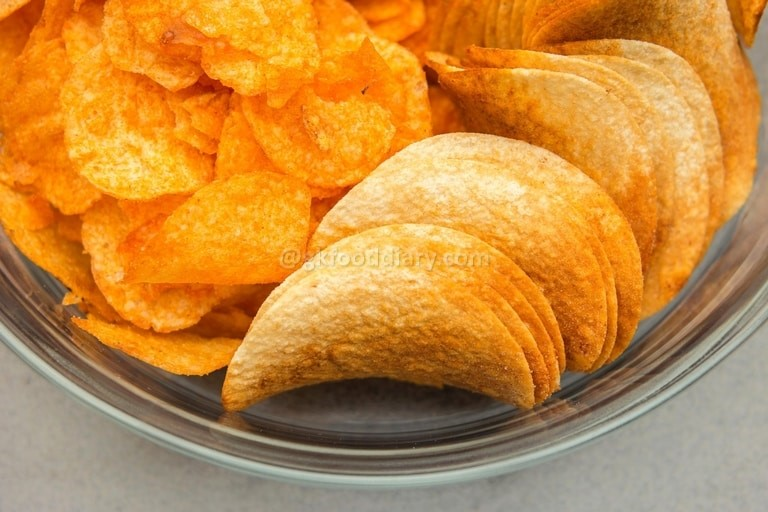 Foods to avoid feeding baby - chips