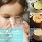 15 Milk flavors for Toddlers and Kids