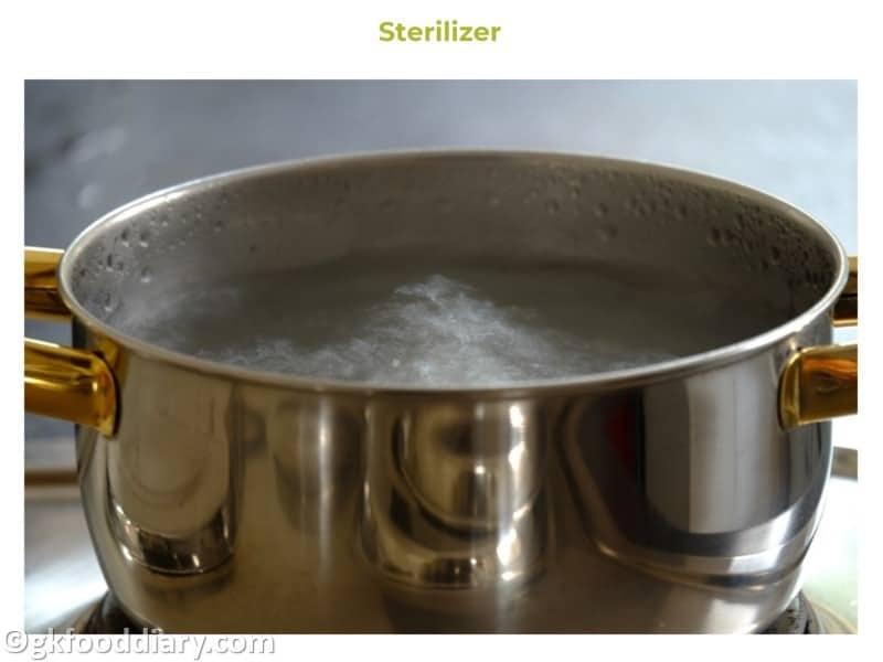 4. Sterilizer