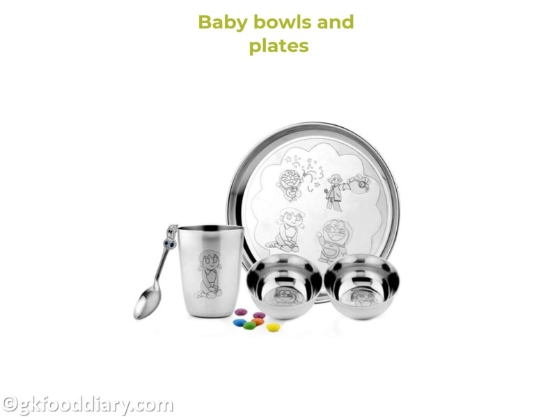 5. Baby Bowls and Plates