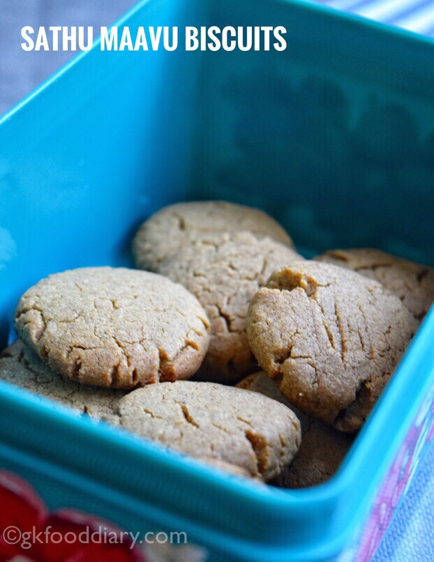 Health Mix Powder Cookies for toddlers and kids