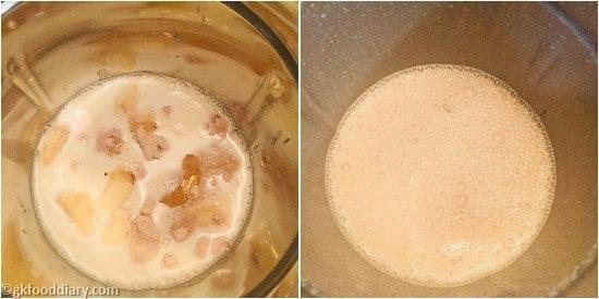 Oats Poha Milkshake Step 1