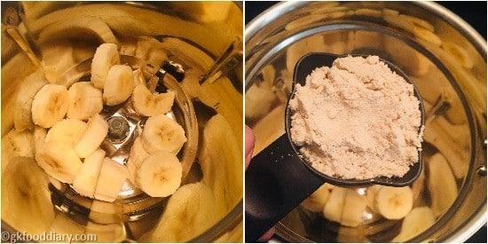 Oats Poha Milkshake Step 3