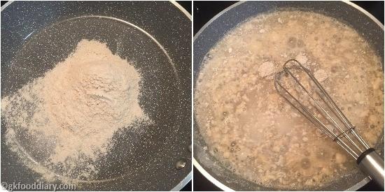 Raw Banana Powder Hlawa - Step 2