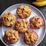 Sathu Maavu Banana Muffins Recipe for Toddlers and Kids