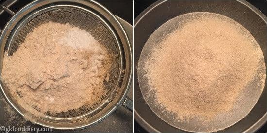 Sathu Maavu Banana Muffins Step 1