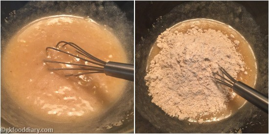 Sathu Maavu Banana Muffins Step 4