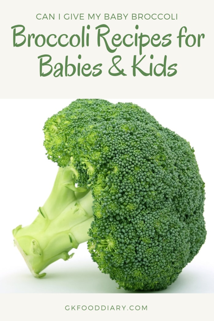 Can I Give My Baby Broccoli