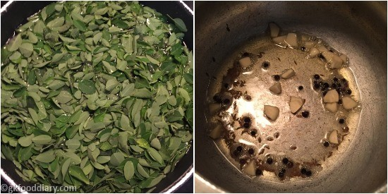 Drumstick Leaves Soup Step 1