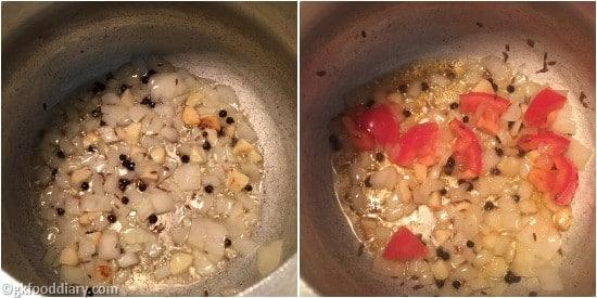 Drumstick Leaves Soup Step 2