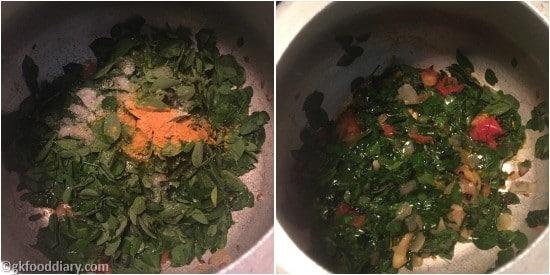 Drumstick Leaves Soup Step 3