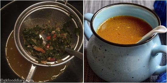 Drumstick Leaves Soup Step 5