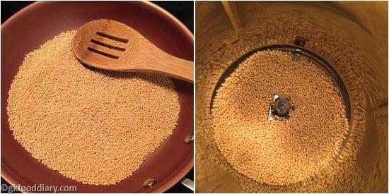 Millet Cookies Step 1