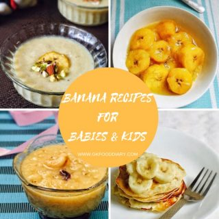 Banana Recipes for Babies & Toddlers