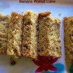 Recipe Collection for toddlers and kids - Banana Walnut Cake
