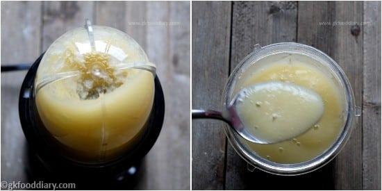 Bottle Gourd Apple Puree Step 3