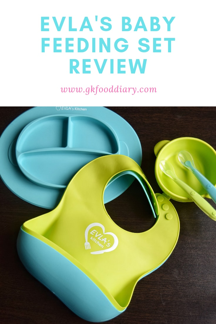 EVLA'S Baby Self Feeding Set Review